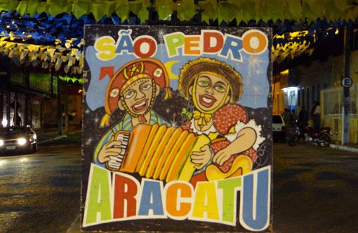 Aracatu: Secretaria divulga comunicado para os interessados em colocar barracas na festa de São Pedro