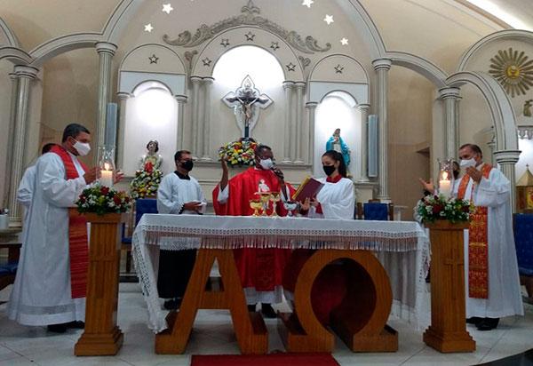 Comunidade brumadense festeja São Sebastião