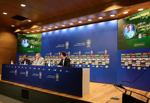 Seleção Brasileira convocada para jogos com Arábia Saudita e Argentina