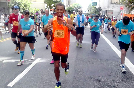 Maratonista brumadense participa da Corrida de São Silvestre