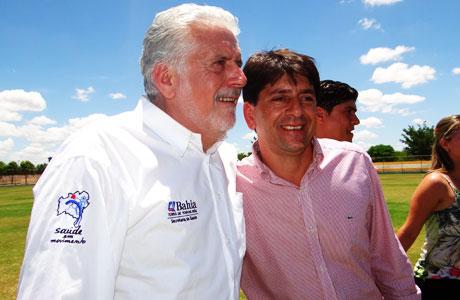 Aracatu: Sérgio Maia participa da visita de Wagner em Malhada de Pedras