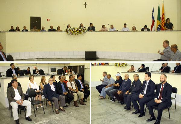 Solenidade no Legislativo marcou a entrega de títulos de Cidadãos Brumadenses