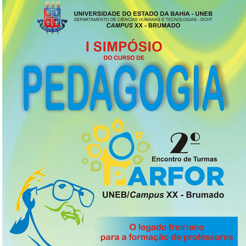 Em agosto acontece o I Simpósio do curso de Pedagogia & II Encontro de turmas do PARFOR/UNEB/Campus XX - Brumado