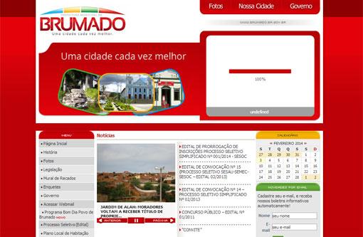 Brumado: Após ser hackeado, site da prefeitura já está no ar