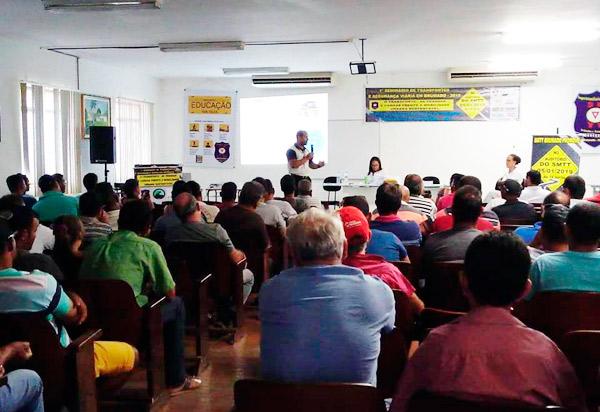 Brumado: SMTT promoveu o 1º Seminário de Transportes