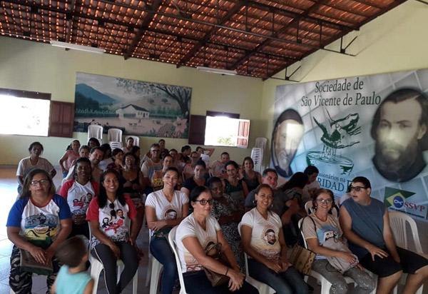 Foi realizado em Brumado o Encontro de Lideranças de Conferências Vicentinas