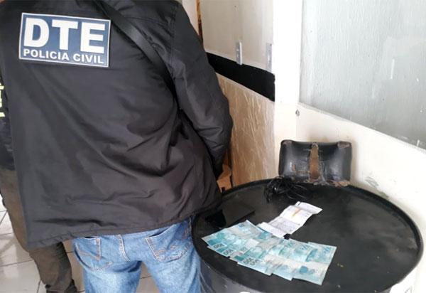 DTE prende candidato a vereador por extorsão e associação para o tráfico em vitória da conquista
