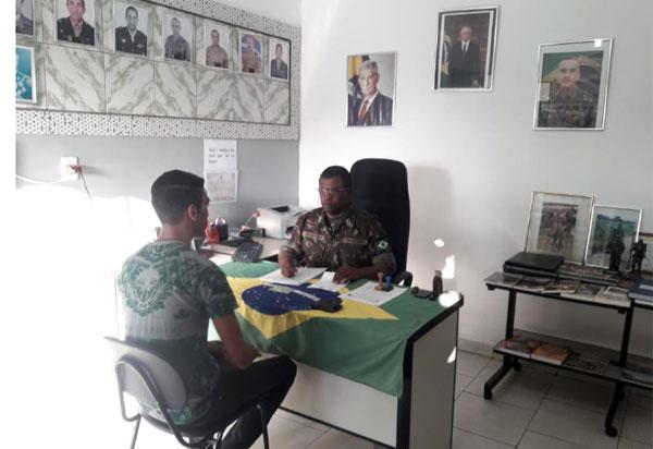 Tiro de Guerra de Brumado realiza seleção inicial para serviço militar obrigatório