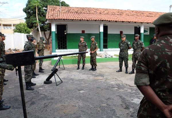 Brumado: Tiro de Guerra 06/024 recebe visita de inspeção do Chefe da Seção de tiros de guerra da 6ª região militar