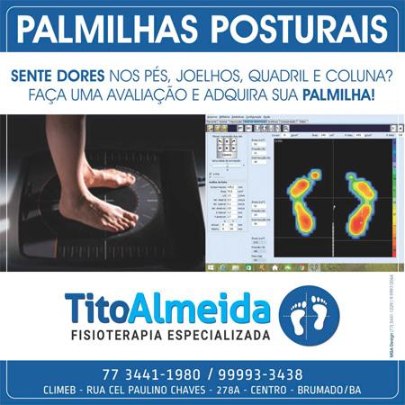 Fisioterapia Tito Almeida - Palmilhas Posturais