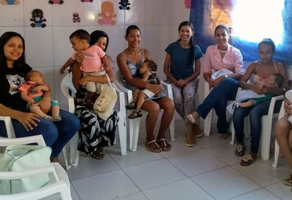 UBS do Olhos D´Água realiza oficina sobre Aleitamento Materno e Alimentação Complementar