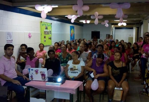 Brumado: UBS Joaquim de Castro (CAIC) promove o 'Dia D' do Outubro Rosa