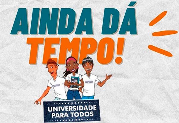 Uesb recebe matrículas para vagas remanescentes no Universidade Para Todos