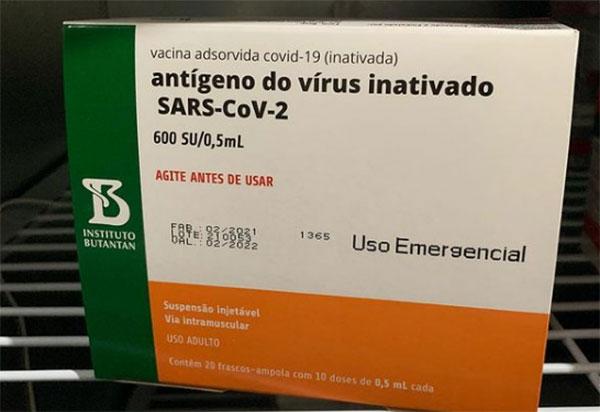 Butantan entrega hoje mais 2 milhões de doses de vacina CoronaVac