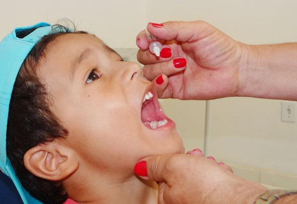 Aracatu: Dia Nacional de Vacinação contra Paralisia Infantil e Sarampo será neste sábado (18)