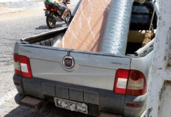 Veículo roubado em São Paulo é recuperado em Aracatu