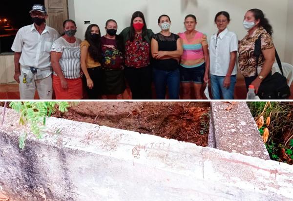 Brumado: Verimar do Sindicato consegue reparos da passagem molhada da comunidade do Barreiro Branco