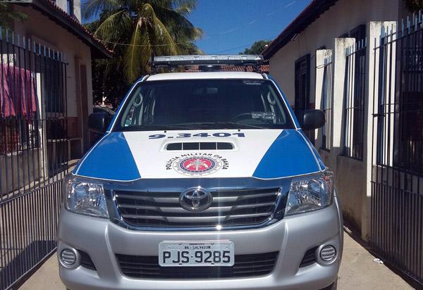 Brumado: suspeitos da morte de senhora no Bairro Mercado são conduzidos à delegacia