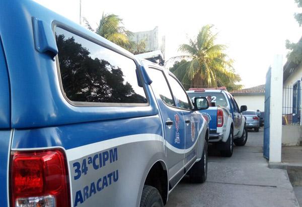 Suspeito de estupro a vulnerável em Aracatu foi conduzido à delegacia de Brumado
