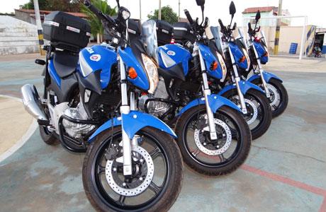 Brumado: 34ª CIPM recebe motos para radiopatrulhamento