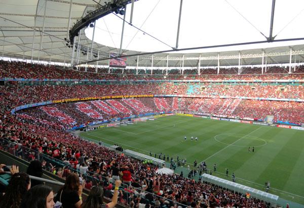 Decreto amplia para 50% a capacidade de público em estádios na Bahia