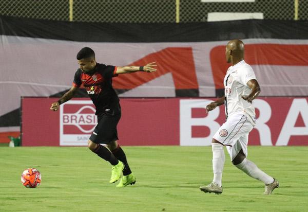 Vitória tropeça no Atlético de Alagoinhas pelo Campeonato Baiano