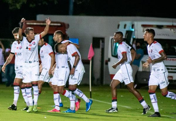 Vitória venceu o Itabaiana por 3 a 0 e se classifica para próxima fase das Eliminatórias da Pré-Copa do Nordeste