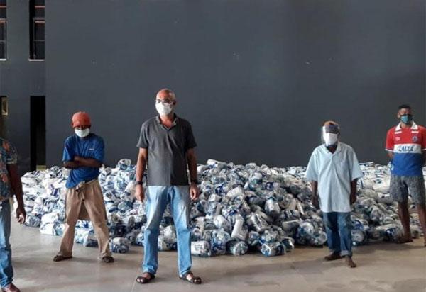 VLI realiza doações em Brumado e outras cidades baianas