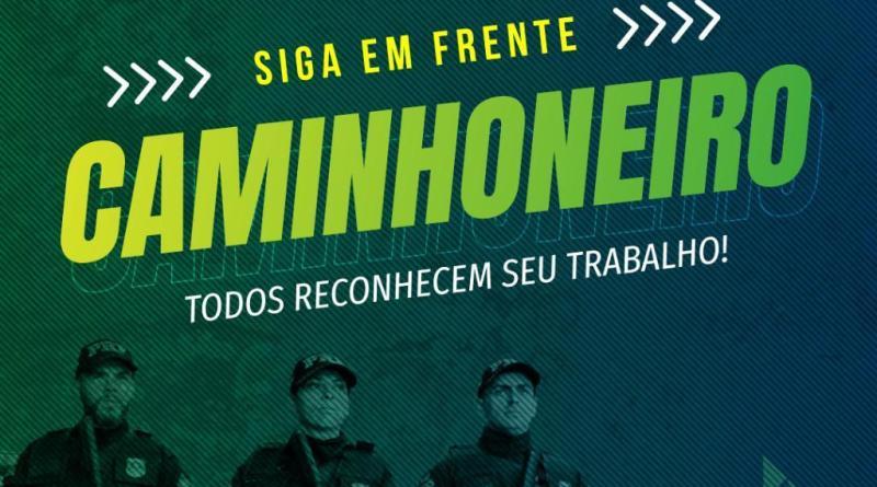 """PRF na Bahia participa da campanha""""Siga em frente, caminhoneiro"""" e disponibiliza 10 pontos de apoiopara doação e distribuição de alimentos e materiais de higiene nas rodovias federais baianas"""